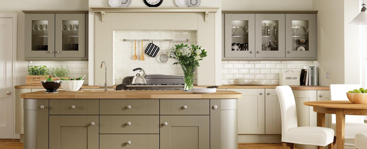 Jewsons Painted Kitchens